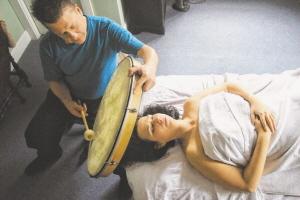 Mark Pukmel Uses Shamanic Drumming